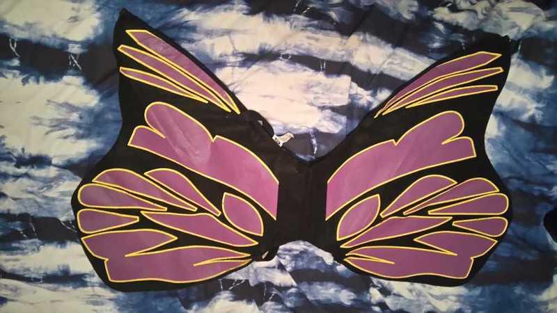 Black Fairy Wings - 1