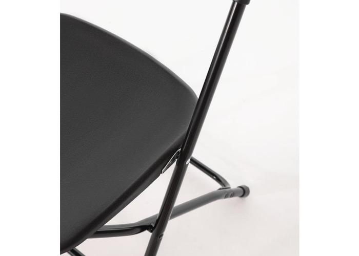 Black Folding Chair - 2