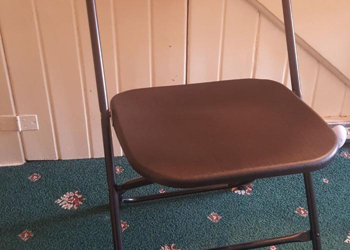 Black Folding Chair - 1