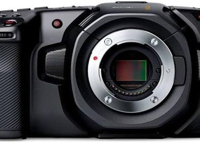 Black Magic 4k Pocket Cam - 1