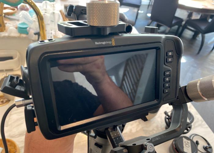 Black magic 6k camera body - 2