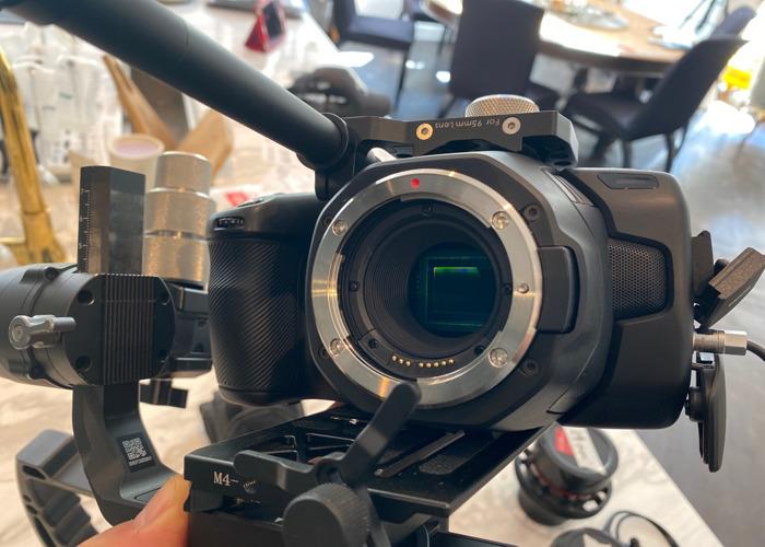 Black magic 6k camera body - 1