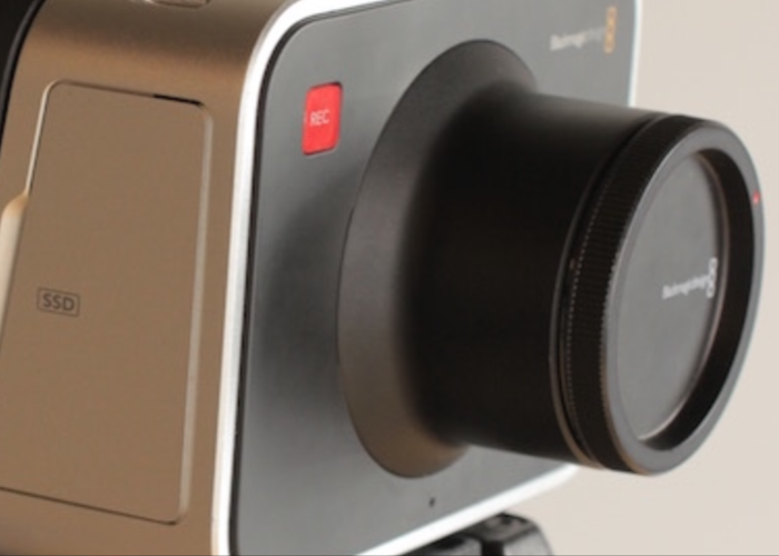 Black Magic Production Camera 4K - 1