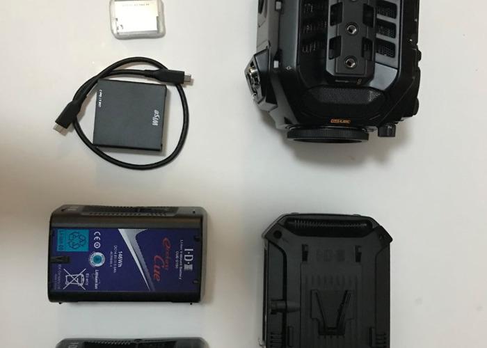 Black Magic Ursa Mini Pro G2 4.6K - 2