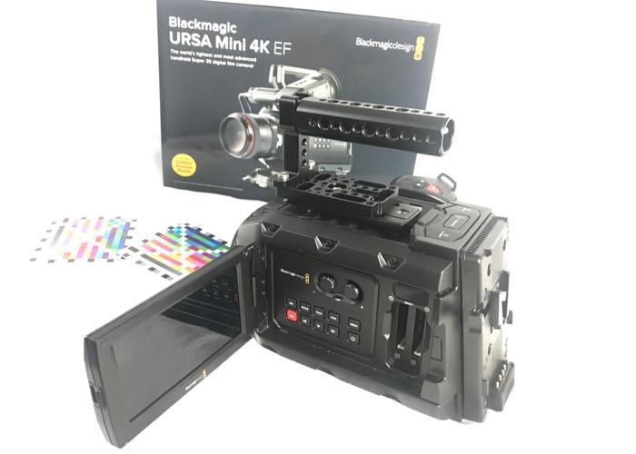 Black Magic Ursa Mini 4K Camera Kit  - 2