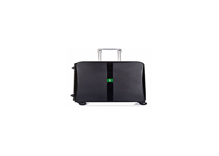 Black medium and large suitcases - 1