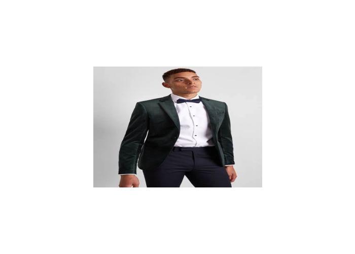 black moss bross suit and trouser medium - 1
