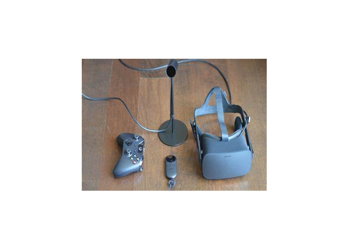Black Oculus Rift set - 1