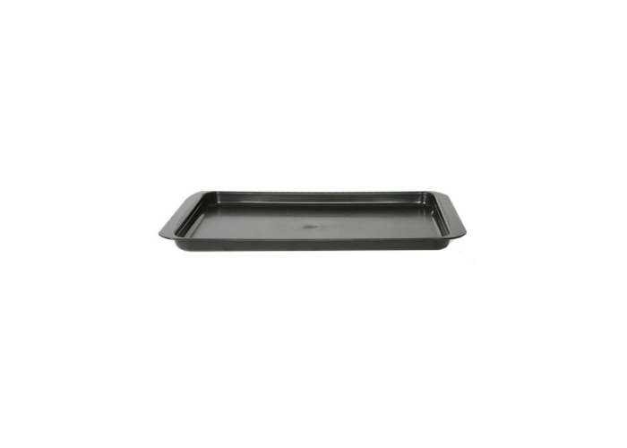 Black Plastic Coated Dish Drainer Tray - 1