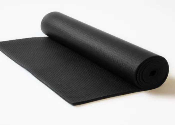 Black Yoga & Sports Mat - 1
