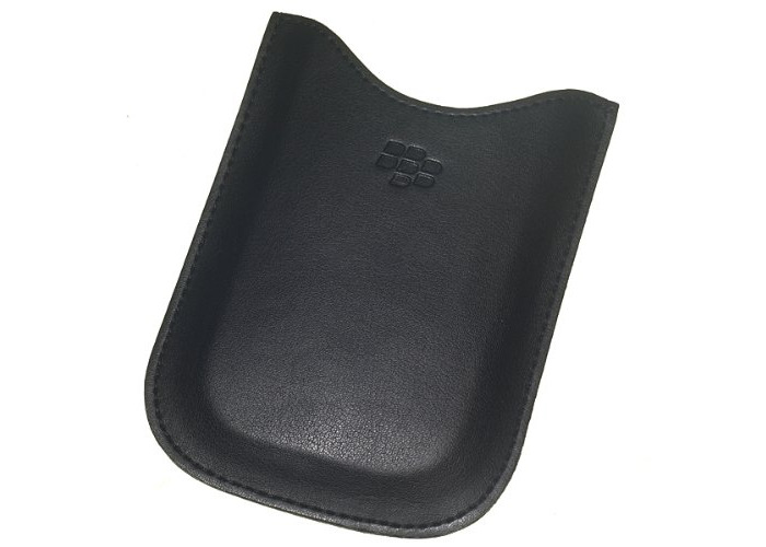 Blackberry 9000 Bold Leather Pouch - Black - HDW-16000-002 - 1
