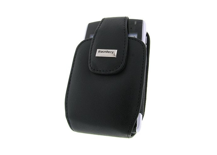 BlackBerry leather case, sleeve black (HDW-13789-001) - 1