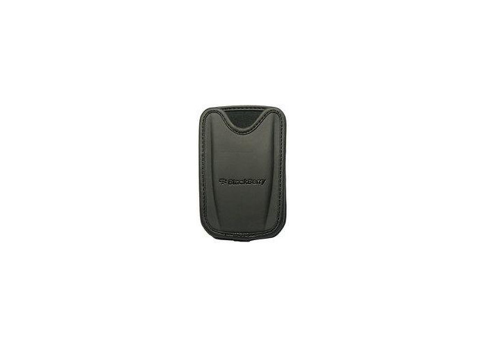 BlackBerry leather case, sleeve black with belt clip (ASY-09288-002) - 1