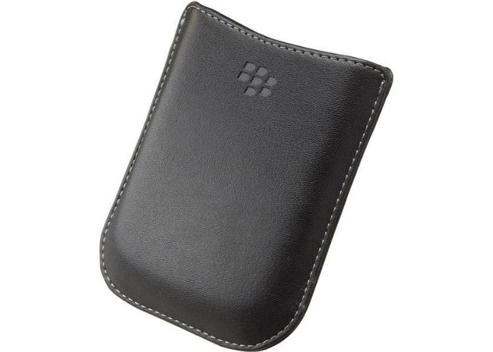 BlackBerry leather Etui, Case, sleeve black (HDW-19815-001) - 1