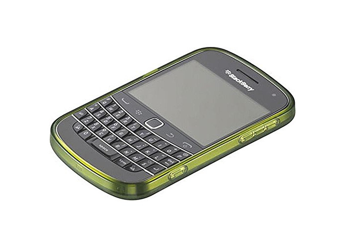 BlackBerry Soft Shell Case for BlackBerry Bold 9900/9930 - Bottle Green - 1