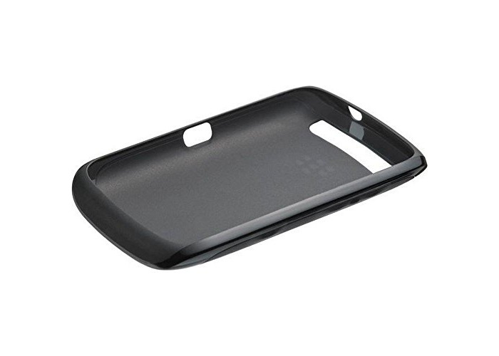 BlackBerry Soft Shell Cover Case for Curve 9380 - Black - 2