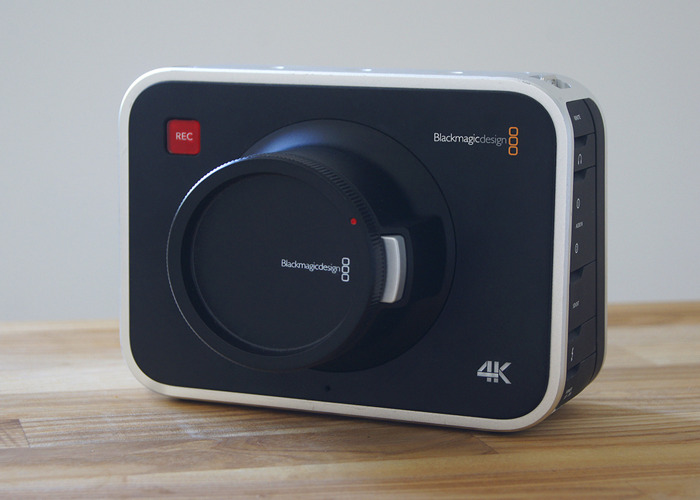Blackmagic 4k Production Camera + Tamron 10-24mm Lens - 2