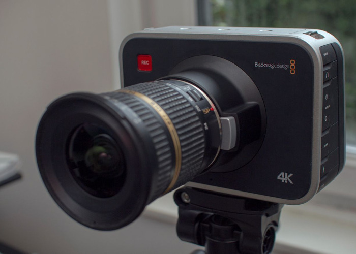 Blackmagic 4k Production Camera + Tamron 10-24mm Lens - 1