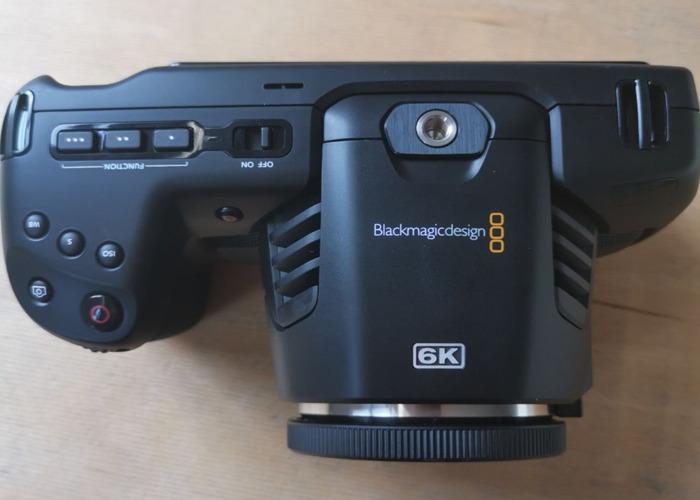 Blackmagic 6K Pocket Cinema Camera  - 2