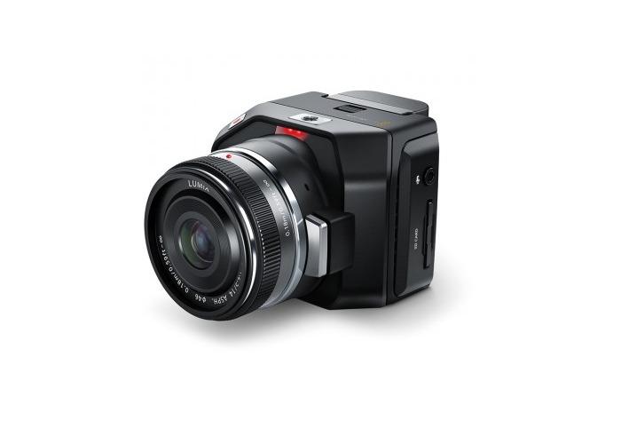 Blackmagic Design Micro Cinema Camera Miniaturized digital film camera for remote use - 1
