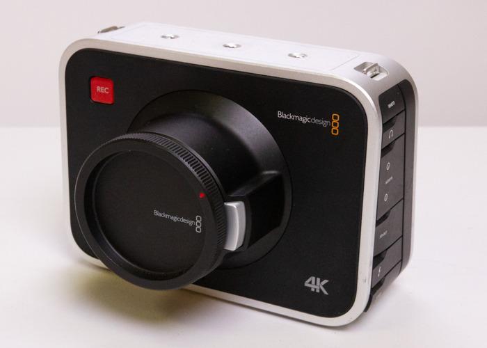 Rent Blackmagic Design Production Camera 4k In Glasgow Fat Llama