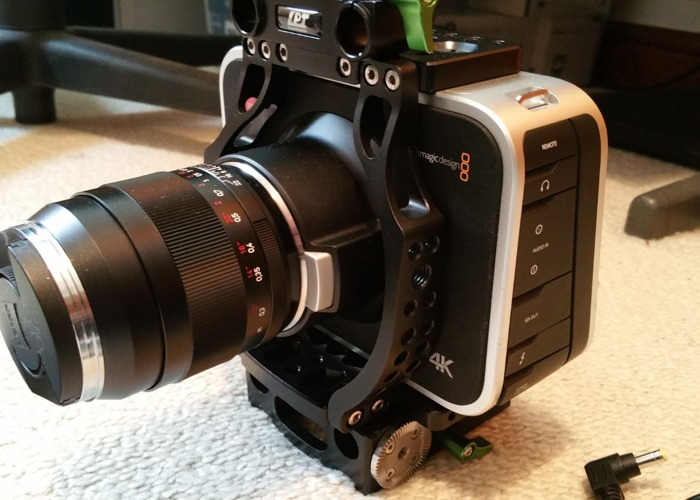 Rent Blackmagic Design Production Camera 4k Camcorder In Maldon Rent For 75 20 Day 376 00 Week 1 252 93 Month Fat Llama