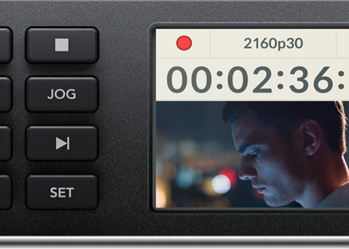 BLACKMAGIC HyperDeck Studio Mini/Video Recoder - 1