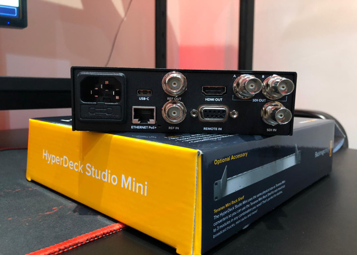 BLACKMAGIC HyperDeck Studio Mini/Video Recoder - 2