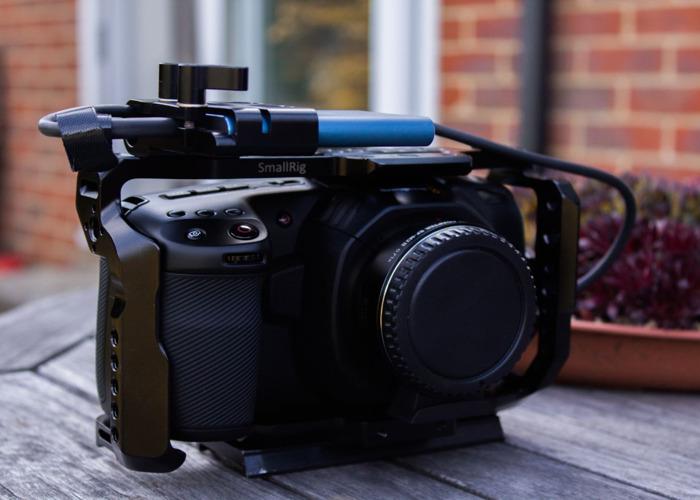 Blackmagic pocket 4k + EF Speedbooster + Samsung t5 500gb - 1