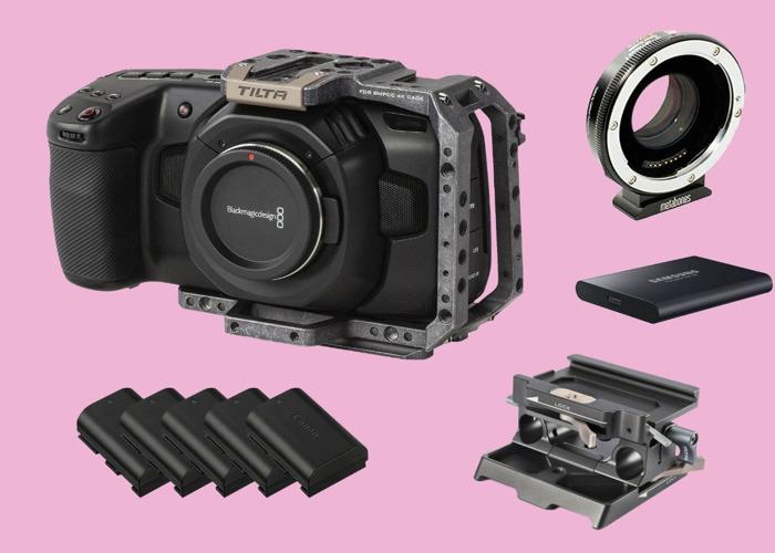 Blackmagic Pocket 4K Camera BMPCC4K VAT inc - 1
