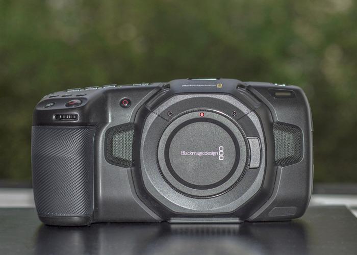 Blackmagic Pocket 4K Cinema Camera + Olympus 12-40mm f/2.8 - 2