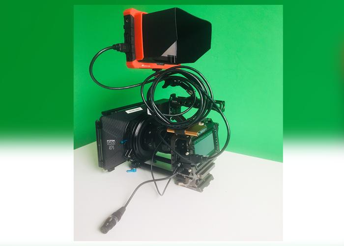 Blackmagic Pocket 4k Cinema Camera Shooting Kit - 2