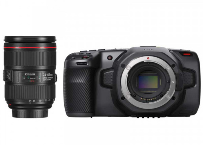 Blackmagic Pocket 6k + Canon 24-105mm f/4 - 1
