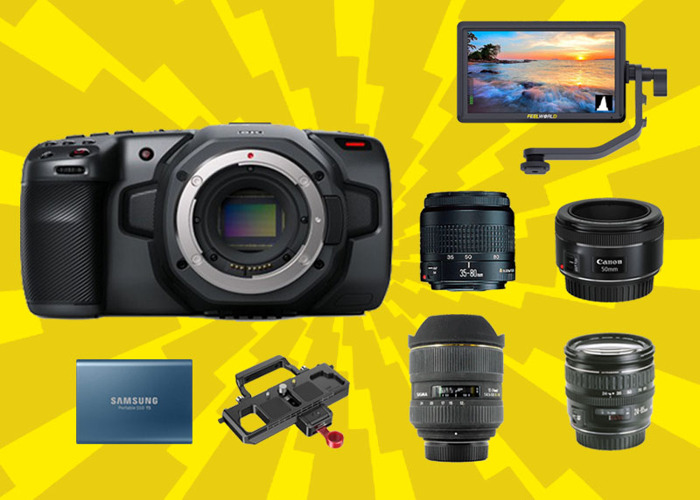 Rent Blackmagic Pocket 6k Bmpcc 6k 4x Lens Super Bundle In London Rent For 197 00 Day 870 00 Week 2 300 00 Month Fat Llama