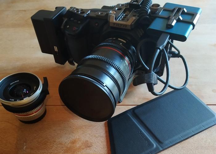 Blackmagic Pocket Cinema 4k (BMPCC4K) 2X LENS  - 1