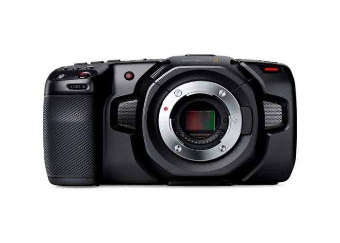 Blackmagic Pocket Cinema 4K MFT with 8 batteries and T5   - 1