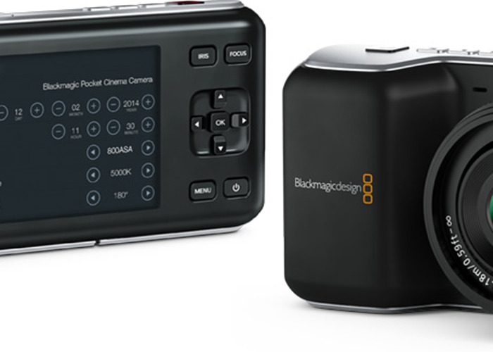 BlackMagic Pocket Cinema Camera - 1