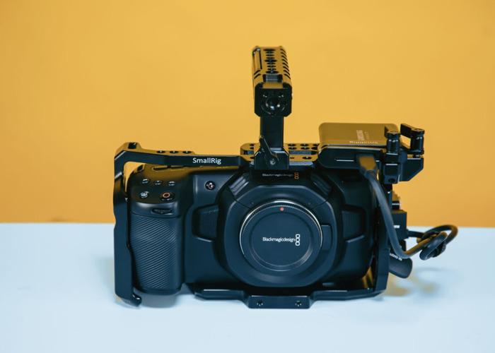 Blackmagic Pocket Cinema Camera 4k + 1tb ssd - 2