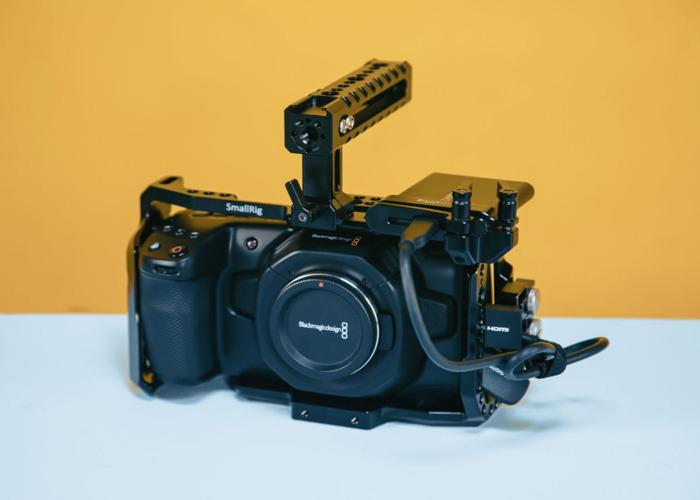 Blackmagic Pocket Cinema Camera 4k + 1tb ssd - 1