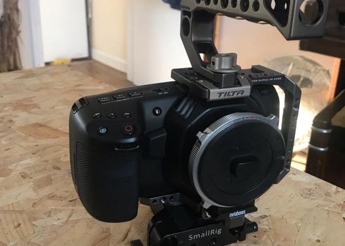 Blackmagic pocket cinema camera 4k + metabones focal reducer - 1