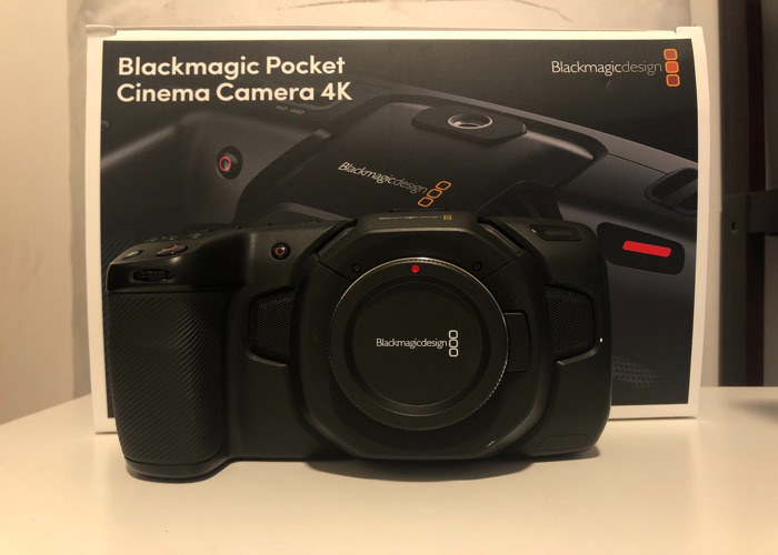 Blackmagic Pocket Cinema Camera 4K - 1