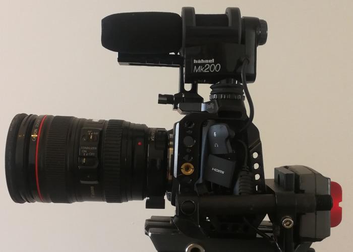 Blackmagic Pocket Cinema Camera 4k (Bmpcc4k) Run&Gun Kit - 1