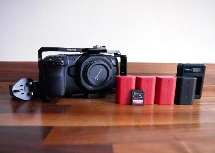 Blackmagic Pocket Cinema Camera 4K - Kit 1 - 1