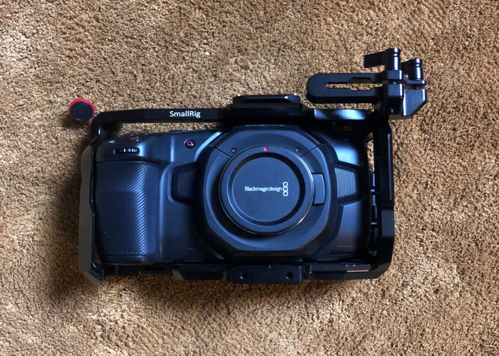 Blackmagic Pocket Cinema Camera 4k with lenses and filters - 1