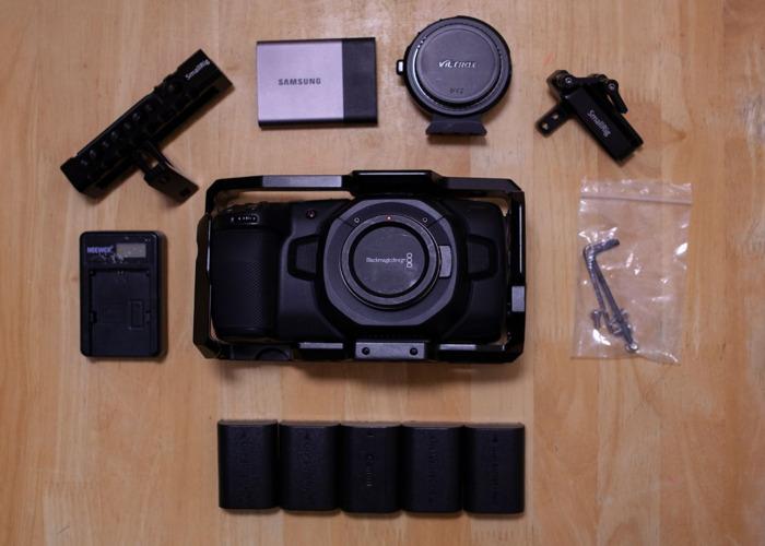 Blackmagic Pocket Cinema Camera 4K (with SSD & Speedbooster) - 2