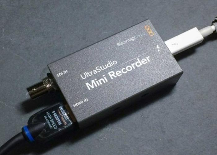 BLACKMAGIC ULTRASTUDIO MINI RECORDER DRIVER DOWNLOAD