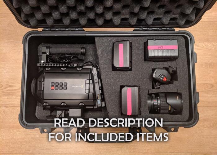 Blackmagic Ursa Mini 4.6k Camera Package [0001] - 2