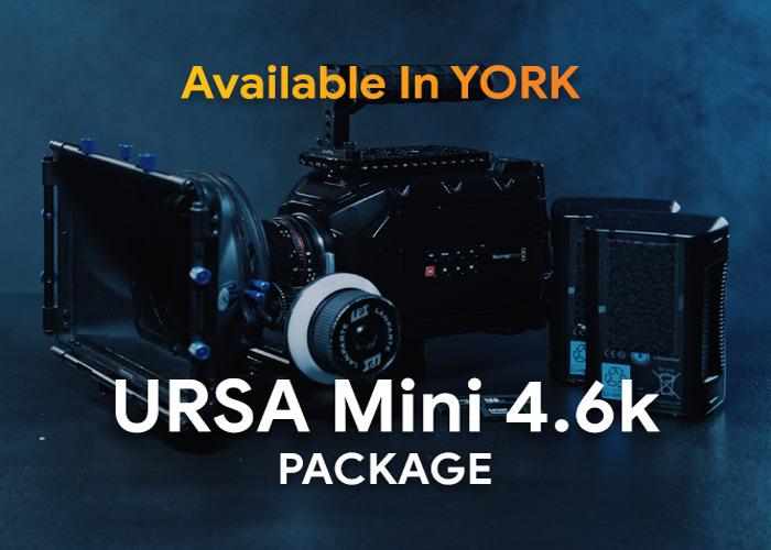 Blackmagic Ursa Mini 4.6k Camera Package [0001] - 1