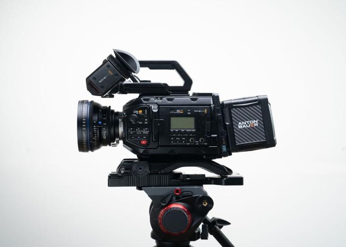 Blackmagic URSA Mini 4.6k Pro + 4x Zeiss CP2 Lenses ( 21mm / 35mm / 50mm / 100mm ) + Tilta Wireless Follow Focus + 760gb Storage + 4 x Batteries Full Film Bundle - 2