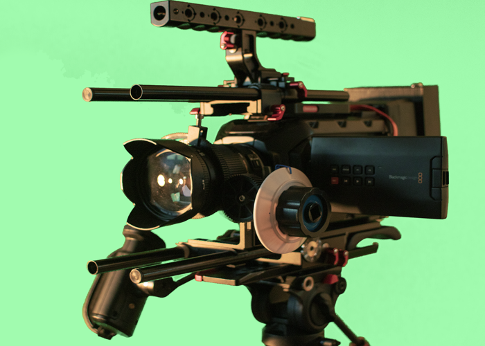 Blackmagic Ursa Mini 4k FULL SHOOTING PACKAGE - 1